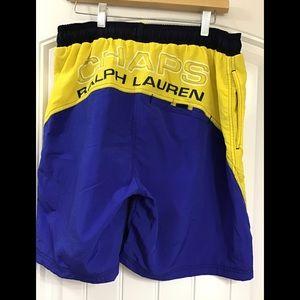Men's Ralph Lauren Chaps swim trunks size L